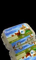 6 Gros Oeufs Plein Air Carrefour