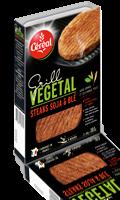 Steaks Soja et blé Céréal