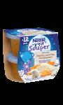 Plat bébé 12+ mois risotto carottes Nestlé P'tit Souper