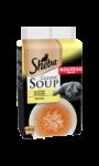 Soupe aux filets de poulet pour chat Sheba