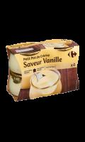 Petit pot de Crème vanille Carrefour