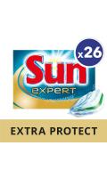 Sun Tablettes Lave-Vaisselle Expert Tout En 1 Extra Protect 26 Doses