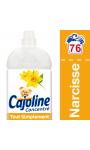 Cajoline Adoucissant Tout Simplement Narcisse 2l 80 lavages
