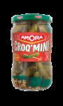 Amora Cornichons Croq' Mini Doux Pot 205g