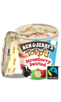 Ben & Jerry's Pot Glace Topped Strawberry Swirled 470ml