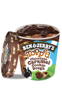 Ben & Jerry's Pot Glace Topped Chocolate Caramel Cookie Dough 470ml