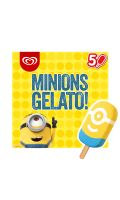 Minions Batonnet Glace Gelato x5 450ml