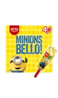 Minions Push-up Bello x4 340ml