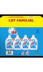 Skip lessive liquide active clean 4x2l lot familial