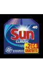 Sun Classique 40 dosettes lot de 4 + 2 gratuits