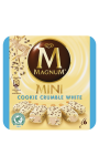 Magnum Mini Batonnet Glace Banc & Cookie Crumble x6 360ml