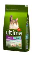 Croquettes pour chat stérilisé Light Ultima