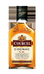 PACK DE 6 FLASKS NUS DE COGNAC COURCEL 20 CL 40D