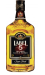 SCOTCH WHISKY LABEL 5 CLASSIC BLACK 35 CL 40°