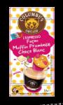 Capsules Columbus Espresso Façon Muffin Chocolat Blanc Framboises