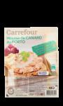 Mousse de canard au porto Carrefour