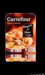 Blanquette de veau et son riz Carrefour