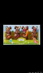 Quatuor lapins Esprit de Fête