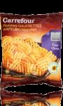 Pommes Gaufrettes au four Carrefour