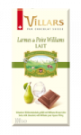 Tablette Liqueur Poire Williams Au Lait Villars