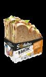 Sandwich Le Rustic Poulet rôti cantal beurre léger au poivre Sodebo