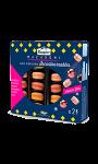 24 Macarons de Nöel 6 parfums Incontournables