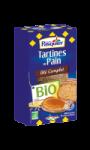 Tartines de Pain Blé Complet Bio