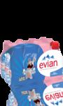 Eau minérale  Evian bouchon sport Lapins Crétins