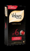 Capsules Lungo N°6 Velours Noir Classique