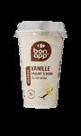 Yaourt à boire saveur vanille Bon App Carrefour