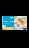 Filet de cabillaud  Carrefour