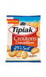 Croutons nature -25% de sel Tipiak