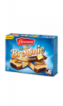 Mini Brownie Duo de Chocolats Brossard