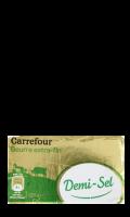 Plaquette de Beurre Demi-Sel Carrefour