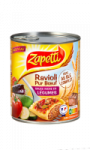 Plat Cuisiné Ravioli Bœuf Et Légumes Zapetti