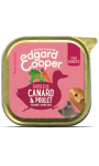 BARQUETTE CANARD & POULET - CHIOTS EDGARD & COOPER