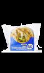 Bagel saumon concombre sauce au fromage frais Carrefour Bon App'