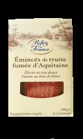 Emincés de Truite Fumée d'Aquitaine Reflets de France