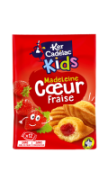 Madeleines coeur fraise Ker Cadélac