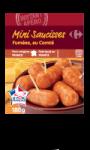 Mini Saucisses Fumées Au Comté Carrefour