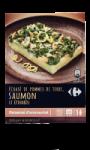 Gratin Saumon Epinars Pommes de Terre...