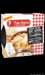 Tartiflette cuisinée au Reblochon de Savoie AOP et aux lardons - Mon plat du jour Pom Bist