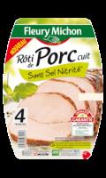 Rôti de Porc Supérieur Sans Sel Nitrité Fleury Michon