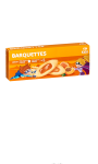 Biscuits barquettes abricot Carrefour Kids