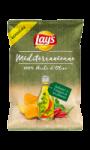 Chips Méditerranéenne 100% Huile d'Olive infusée à l'Origan et Piment Lay's