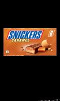 Barres chocolatées au caramel Snickers