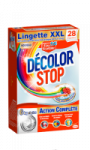 Lingettes antidécoloration XXL Décolor Stop