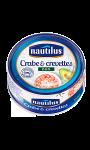 Duo crabe et crevettes Nautilus