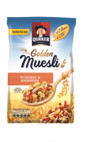 Golden Muesli Quaker Pommes et Amandes