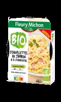 Coquillettes au jambon cuit et à l'emmental Bio Fleury michon